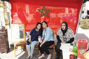 سفارة المغرب شاركت فرحة الاحتفالات
