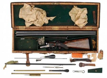 بندقية الرئيس الأميركي السابق، تيدي روزفلت، بسعر 862.500 ألف دولار