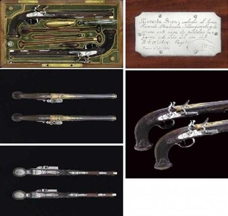 مسدسات سيمون بوليفار بسعر 1.687.500 مليون دولار