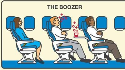 تصرفات تثير جنون الركاب الطائرة..