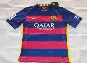 صورة مسربة لقميص برشلونة الجديد لموسم 2015-2016
