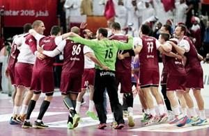 يد قطر على موعد مع التاريخ بمواجهة فرنسا في نهائي كأس العالم   جريدة الأنباء الكويتية