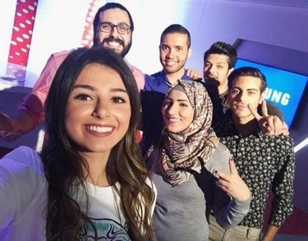 بالصور.. أبناء عاصي الحلاني في كواليس The voice