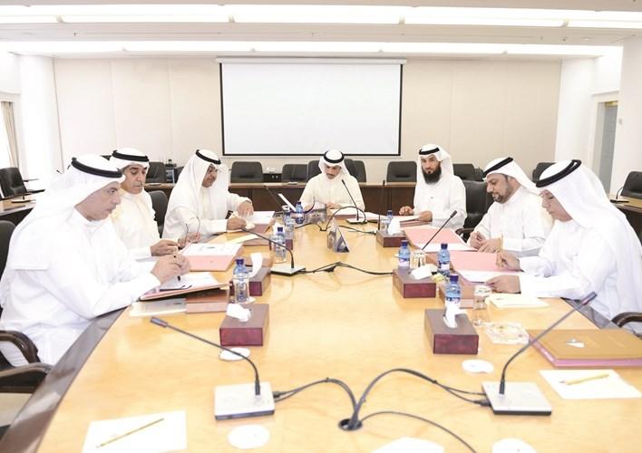 مكتب المجلس يطلع على استعدادات حفل افتتاح مبنى صباح الأحمد الجديد