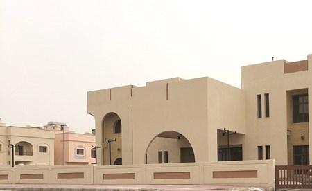 أحد بيوت مدينة جابر الأحمد السكنية