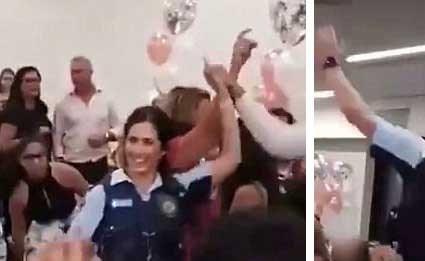 بالفيديو.. شرطيان استراليان داهما عرسا لبنانيا لايقافه… شاهد ماذا حدث!!