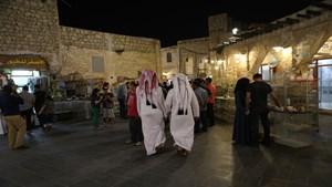 """سوق """"واقف"""" في قطر"""
