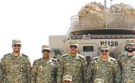 الرفاعي: رفع الكفاءة القتالية لمنتسبي الحرس لأداء مختلف الواجبات بكفاءة واقتدار