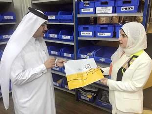 بوشهري تبحث التعاون مع قطر في مجالات النقل والموانئ والطيران