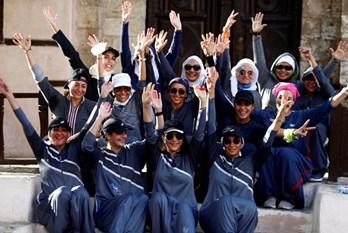 طلب كبير على العباءات الرياضية للنساء في السعودية