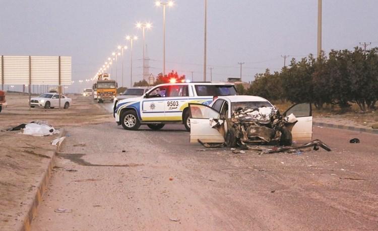 حادث مروع على طريق كبد !! تعرف على التفاصيل.
