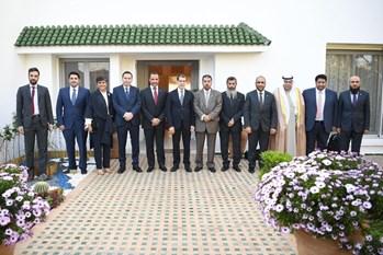 الغانم يجتمع في الرباط الى رئيس الوزراء المغربي