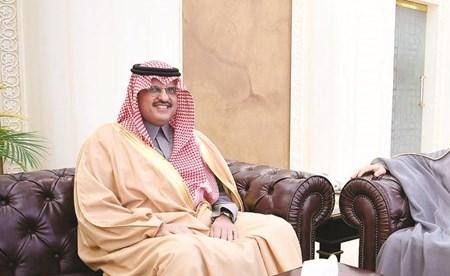 الغانم يستقبل سفير خادم الحرمين الشريفين