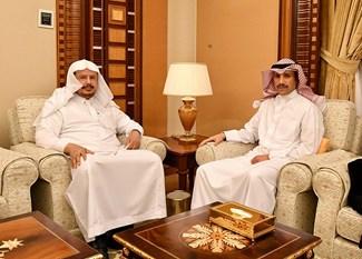 الغانم يلتقي في جدة رئيس مجلس الشورى السعودي