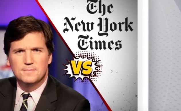 بالفيديو.. مقدم برامج شهير يحذر نيويورك تايمز من نشر عنوان منزله