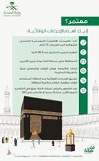 «الصحة السعودية» تحدد 6 إجراءات من أجل عمرة آمنة
