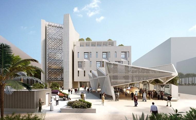 توفير بيئة تعليمية تفاعلية لمنتسبي كلية العمارة