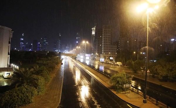 الأمطار مستمرة حتى ظهر الجمعة (ريليش كومار)