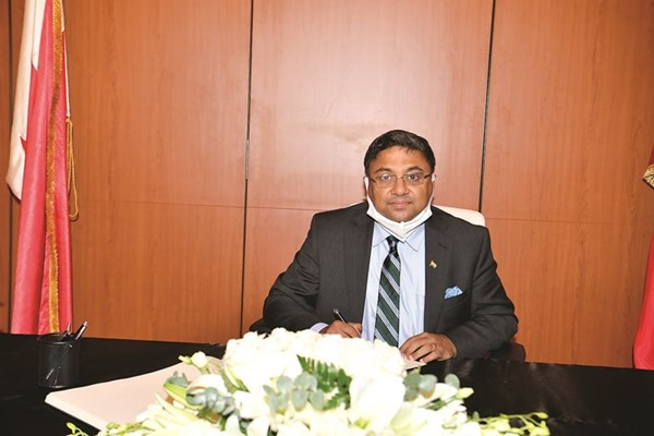 سفير الهند سيبي جورج يعزي