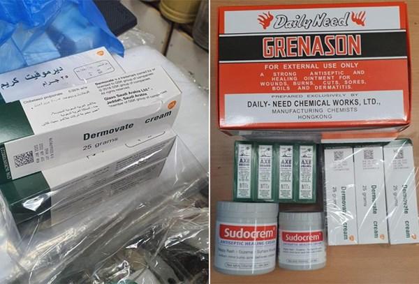 """""""الصحة"""": ضبط مستحضرات صيدلانية بمحلات عطارة تباع بشكل غير قانوني"""