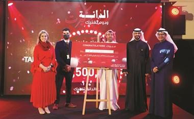 بالفيديو.. «الخليج» يتوّج  طلال العجمي بـ 1.5 مليون دينار .. جائزة «الدانة» الكبرى