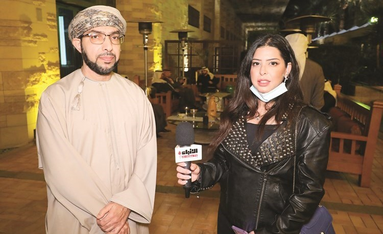 In Ruslani video for Al-Anba al-Wala |  Al Anba newspaper