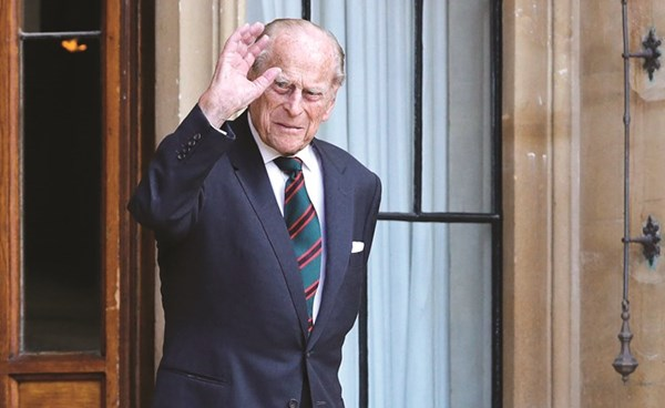 الأمير فيليب زوج ملكة بريطانيا يدخل   جريدة الأنباء   Kuwait