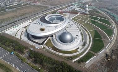 أكبر قبة فلكية في العالم تحدد موعد تشغيلها التجريبي في يونيو بشانغهاي