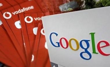 فودافون وجوجل يخططان للتعاون في تحليل البيانات