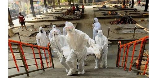 الهند تسجّل 4194 وفاة بفيروس كورونا خلال 24 ساعة