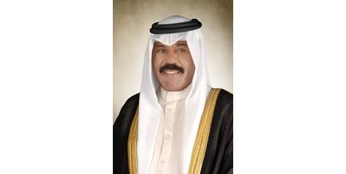 صاحب السمو الأمير يستقبل الشيخ ناصر المحمد